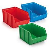 Caixa stock de plástico empilhável