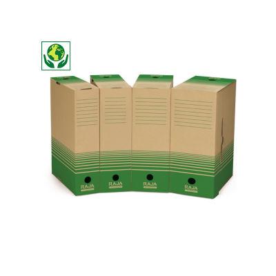 Caja de archivo de cartón reciclado RAJA