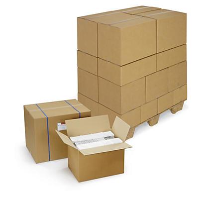 Caja de cartón canal doble menos de 50 cm de largo RAJA®