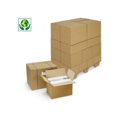 Caja de cartón canal doble RAJABOX de menos de 50 cm de largo