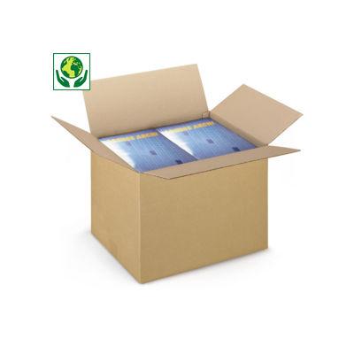 Caja de cartón canal simple RAJABOX formato A3