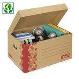 Caja de cartón multiusos con asas RAJA®