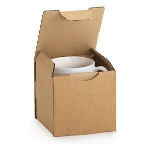 Caja De Cartón Para Envío De Tazas Rajapack