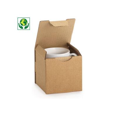 Caja de cartón para envío de tazas