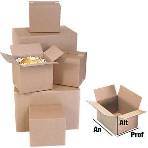 Caja embalaje canal simple 400 x 200 x 270