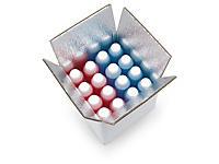 Caja isotérmica para productos frágiles