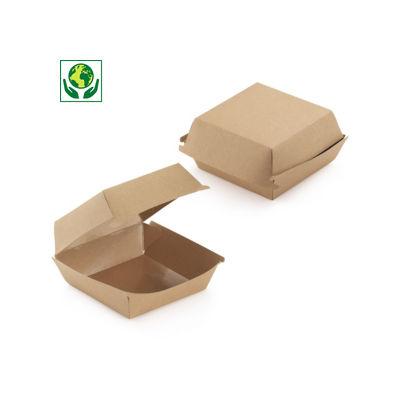 Caja para hamburguesa