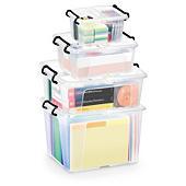 Caja de plástico polivalente