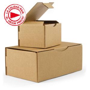 e595ef5b5c Caja de cartón para envío postal marrón Rajapost   Rajapack