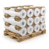 Calage pour cylindre et bobine en cellulose