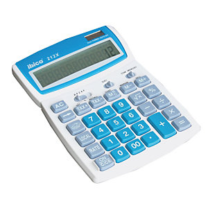 Calculatrice de bureau 12 chiffres Ibico 212 X