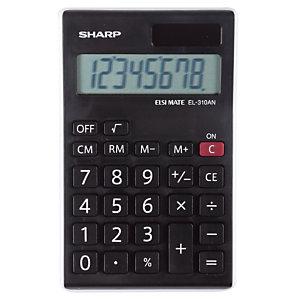 Calculatrice de bureau  Sharp EL-310ANWH