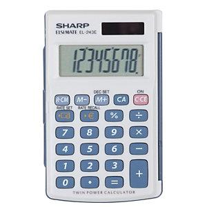 Calculatrice de poche Sharp EL 243EB