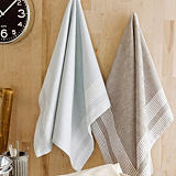 Calitex Torchon Chevron, lot de 3