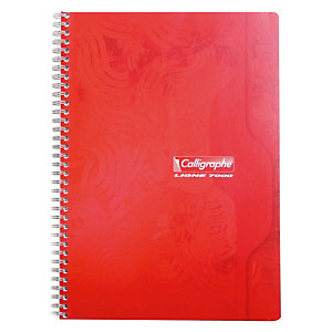 Calligraphe Calligraphe Cahier spirale A4 21 x 29,7 cm - petits carreaux 5x5 - 100 pages