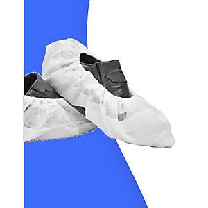 Calzari monouso in TNT, Taglia Unica, Bianco (confezione 100 pezzi)