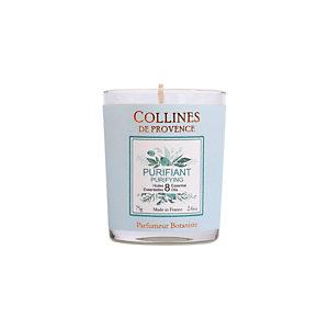 Candela profumata Purificante Collines de Provence, Profumazione Classica,75 g