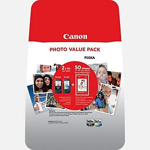 Canon 3712C004, Original, Noir, Cyan, Magenta, Jaune, Canon, Multi pack, PIXMA TS5350 PIXMA TS5351 PIXMA TS5352, 2 pièce(s)