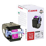 Canon 702, 9643A004, Tóner Original, Magenta