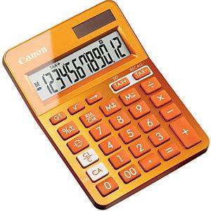 """Canon Calcolatrice da tavolo """"LS-123K"""" - Colore Metallic Orange"""