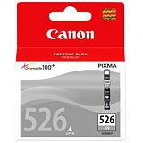 Canon Cartuccia inkjet PIXMA CLI-526 GY, 4544B001, Inchiostro ChromaLife 100+, Grigio, Pacco singolo