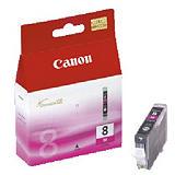 Canon Cartuccia inkjet PIXMA CLI-8 M, 0622B001, Inchiostro ChromaLife 100, Magenta, Pacco singolo