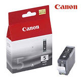 Canon Cartuccia inkjet PIXMA PGI-5 BK, 0628B001, Nero, Pacco singolo
