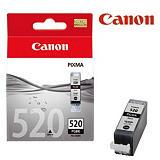 Canon Cartuccia inkjet PIXMA PGI-520 BK, 2932B001, Nero, Pacco singolo