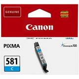 Canon CLI-581 C, 2103C001, Cartucho de Tinta, ChromaLife100+, PIXMA, Cian