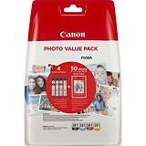 Canon CLI-581 Multipack, Original, Encre à pigments, Noir, Cyan, Magenta, Jaune, Canon, PIXMA TS8150 PIXMA TS9150 PIXMA TR8550 PIXMA TS6151 PIXMA TS8152 PIXMA TS8151 PIXMA TR7550 PIXMA..., 5,6 ml 2106C005