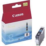 Canon CLI-8 C, 0621B001, Cartucho de Tinta, ChromaLife100, Cian