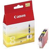 Canon CLI-8 Cartouche d'encre authentique (0623B001) - Jaune