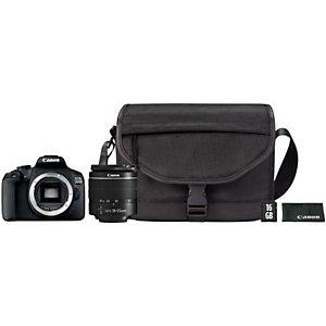 Canon EOS 2000D 18-55 DC + SB130 + 16GB, 24,1 MP, 6000 x 4000 Pixeles, CMOS, Full HD, 475 g, Negro 2728C054