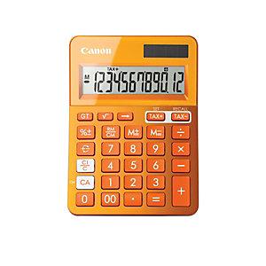 Canon LS-123K Calculadora de sobremesa de 12 dígitos naranja