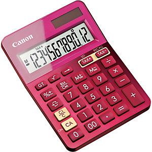 Canon LS123K-MPK Calculadora con pantalla de 12 dígitos, rosa