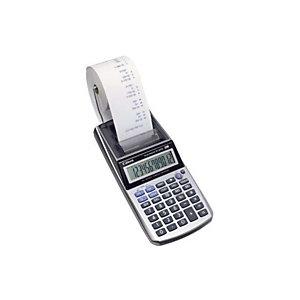Canon P1-DTSC Calcolatrice stampante, 12 cifre, Colore Argento metallizzato
