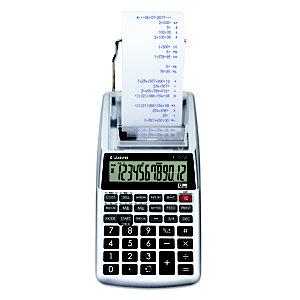 Canon P1‑DTSC II Calcolatrice stampante portatile, 12 cifre, Grigio metallizzato