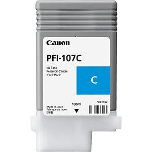CANON PFI-107C Cartouche d'encre authentique  (6706B001)- Cyan