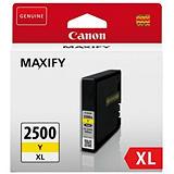Canon PGI-2500 XL Y, 9267B001AA, Cartucho de Tinta, Maxify, Amarillo, Alta Capacidad