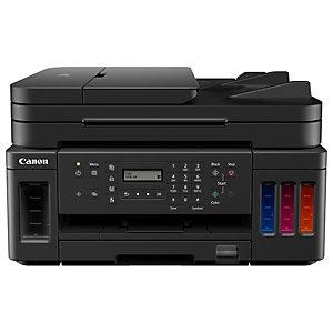 Canon Pixma Megatank G7050, Impresora multifunción a color, Inalámbrica, A4 (210 x 297 mm), negro