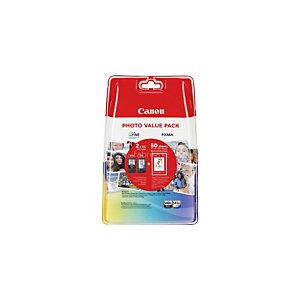 CANON PIXMA PG-540XL / CL-541XL, Inktcartridge, Zwart, kleuren Multipack, 5222B013