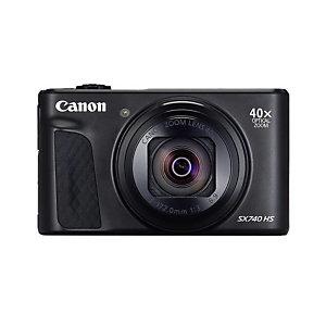 Canon PowerShot SX740 HS, 20,3 MP, 5184 x 3888 Pixeles, CMOS, 40x, 4K Ultra HD, Negro 2955C002
