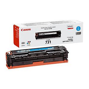 CANON Toner Original 731 C, 6271B002 (Pack de 1), Cyan