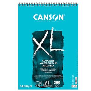 CANSON Album XL Aquarelle - A3 - 300gr - 30 fogli - Canson