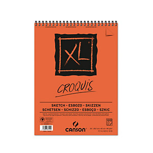 CANSON Album XL Croquis - A3 - 90 gr - 120 fogli - Canson