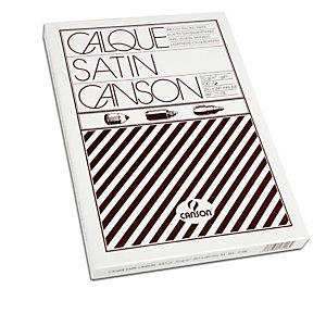 CANSON Carta lucida satinata per disegno manuale - A4 - 100 fogli - 90/95gr - per fotocopie/stampe laser - Canson