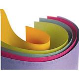 CANSON couleur 160 g ''Mi-teintes'' 50x65 cm paquet de 24 feuilles, coloris assortis pastel