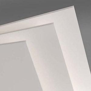 CANSON Feuille de carton plume Classic 50 x 65 cm épaisseur 5 mm coloris blanc