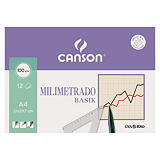 CANSON Milimetrado láminas de dibujo (A4)