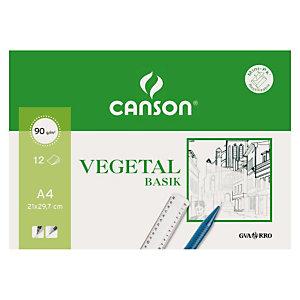 CANSON Papel vegetal A4
